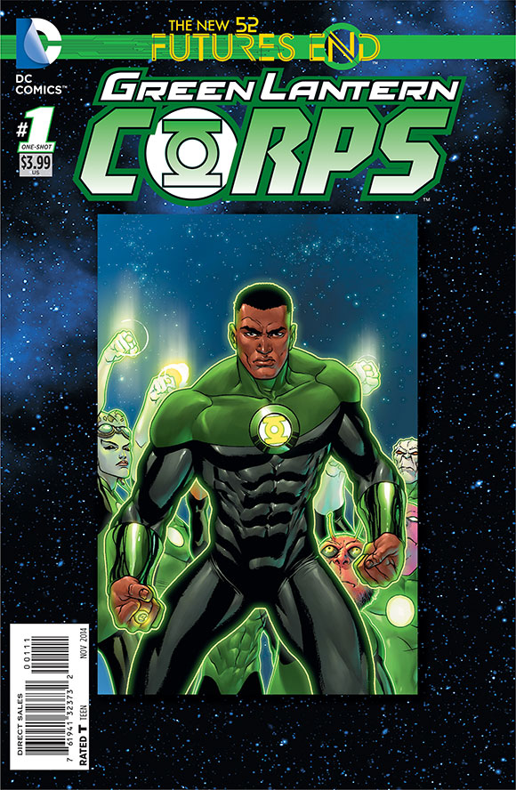 Green Lantern Corps A