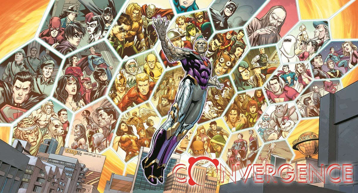 Art by Carlo Pagulayan and Jose Marzan, Jr. with colors by Hi-Fi