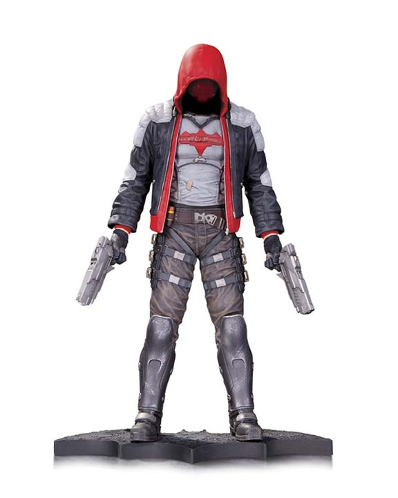 "ARKHAM KNIGHT RED HOOD 10.5"" Statue"