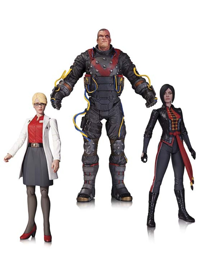 ELECTROCUTIONER, HARLEEN QUINNZEL, & LADY SHIVA 3-PACK
