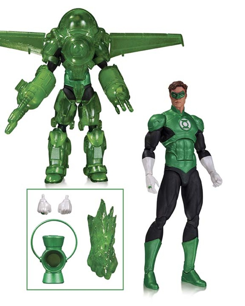 GREEN LANTERN HAL JORDAN: DARK DAYS 6""