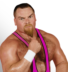 "The photo of Jim ""The Anvil"" Neidhart is for effect only."