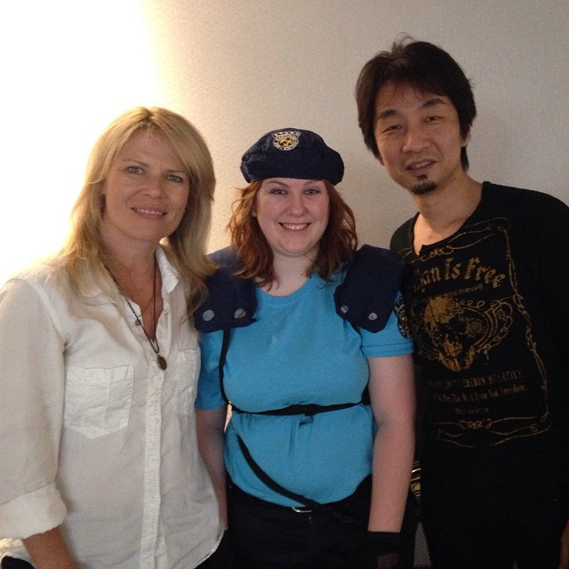 Left to Right: Mary Elizabeth McGlynn, JLAndersen 01, Akira Yamaoka