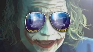 joker in glasses