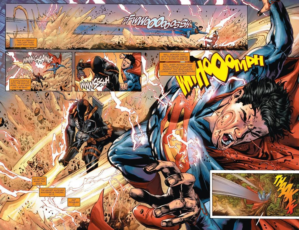 Take that Superman!