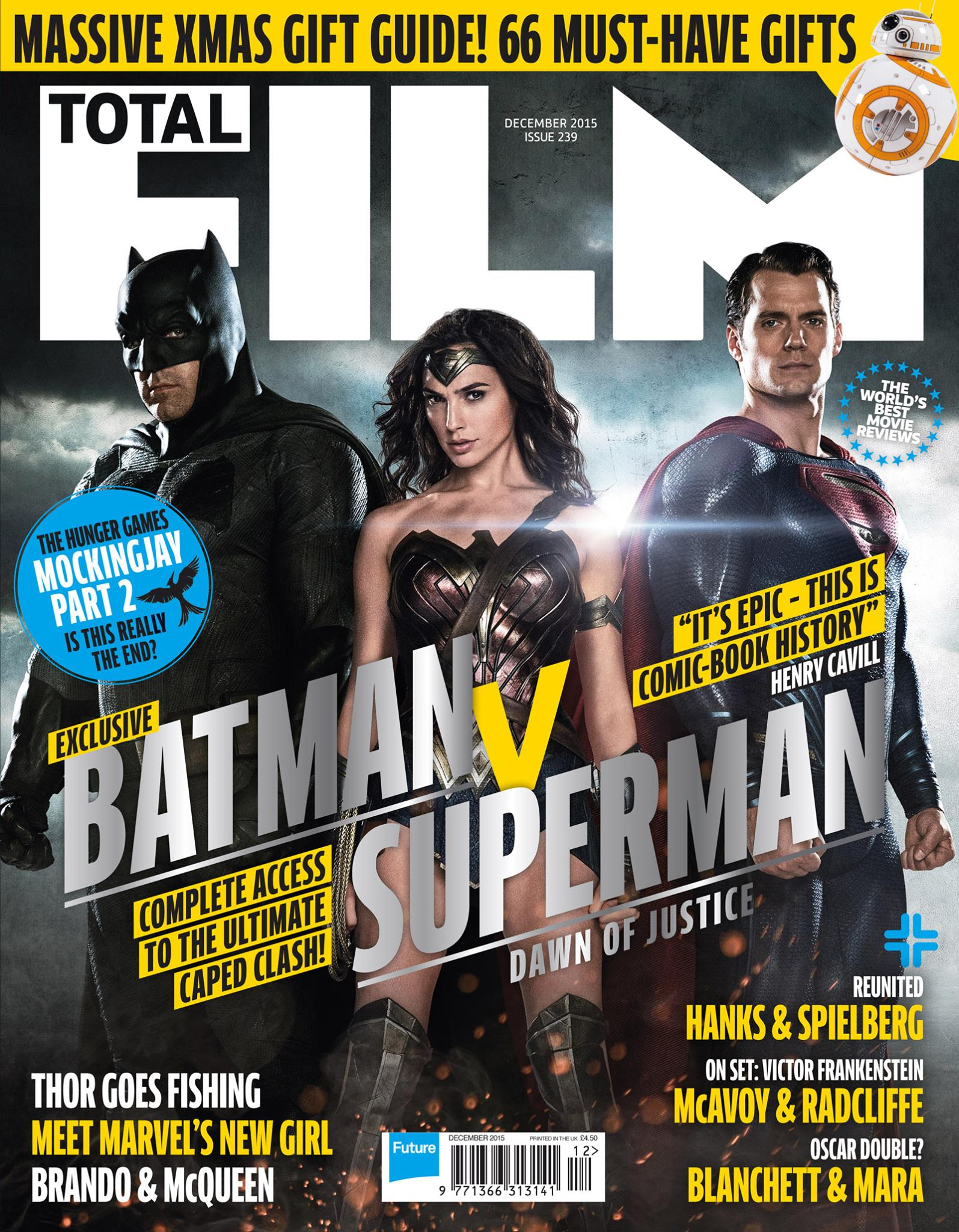 Total Film - Batman v Superman Dawn of Justice cover shot