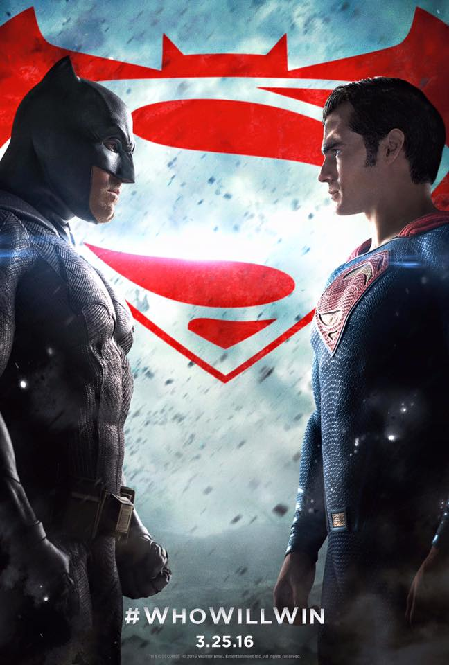 New 'Batman V Superman' Poster Asks Fans Who Will Win? Dark Knight News