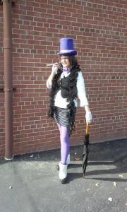 Rachel as Lady Penguin