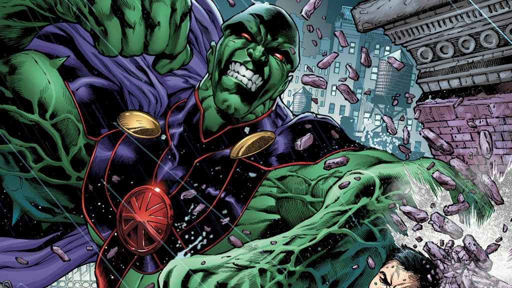 martian manhunter body