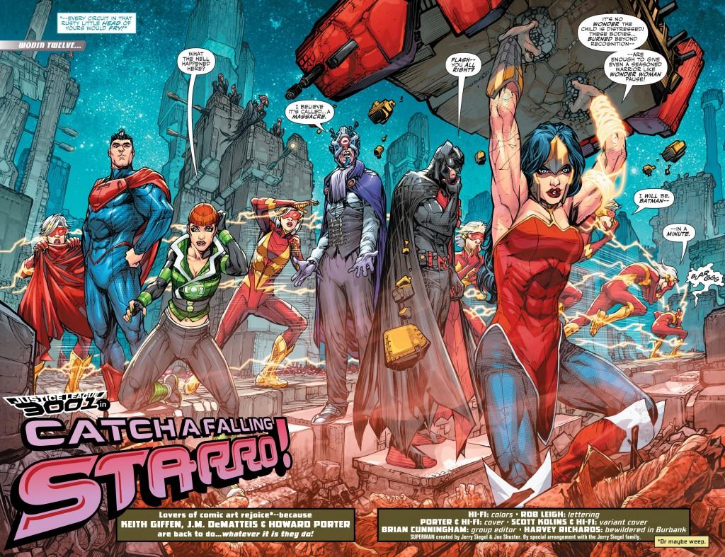 justice league 3001 vol 1 interior