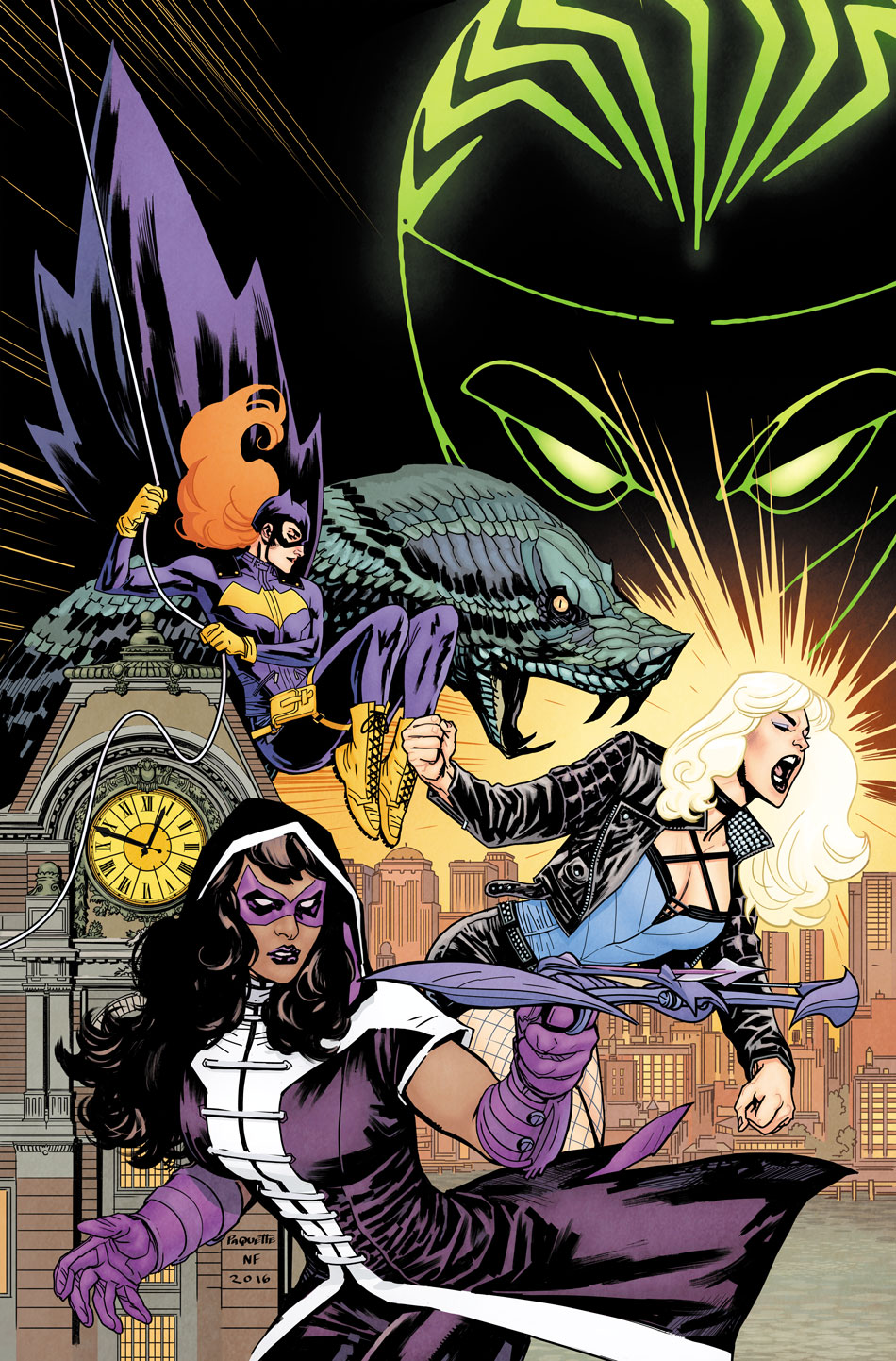 Batgirl and the Birds of Prey #1 Cover