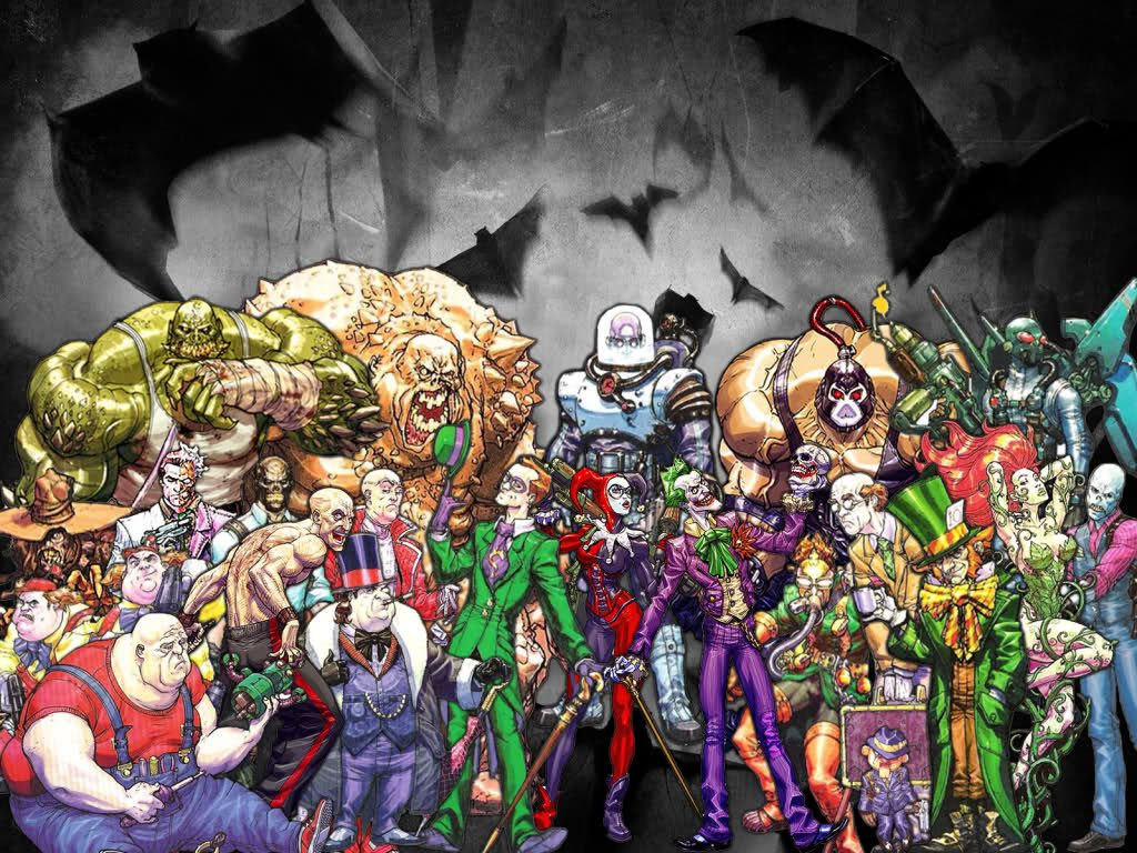 Arkham Villains
