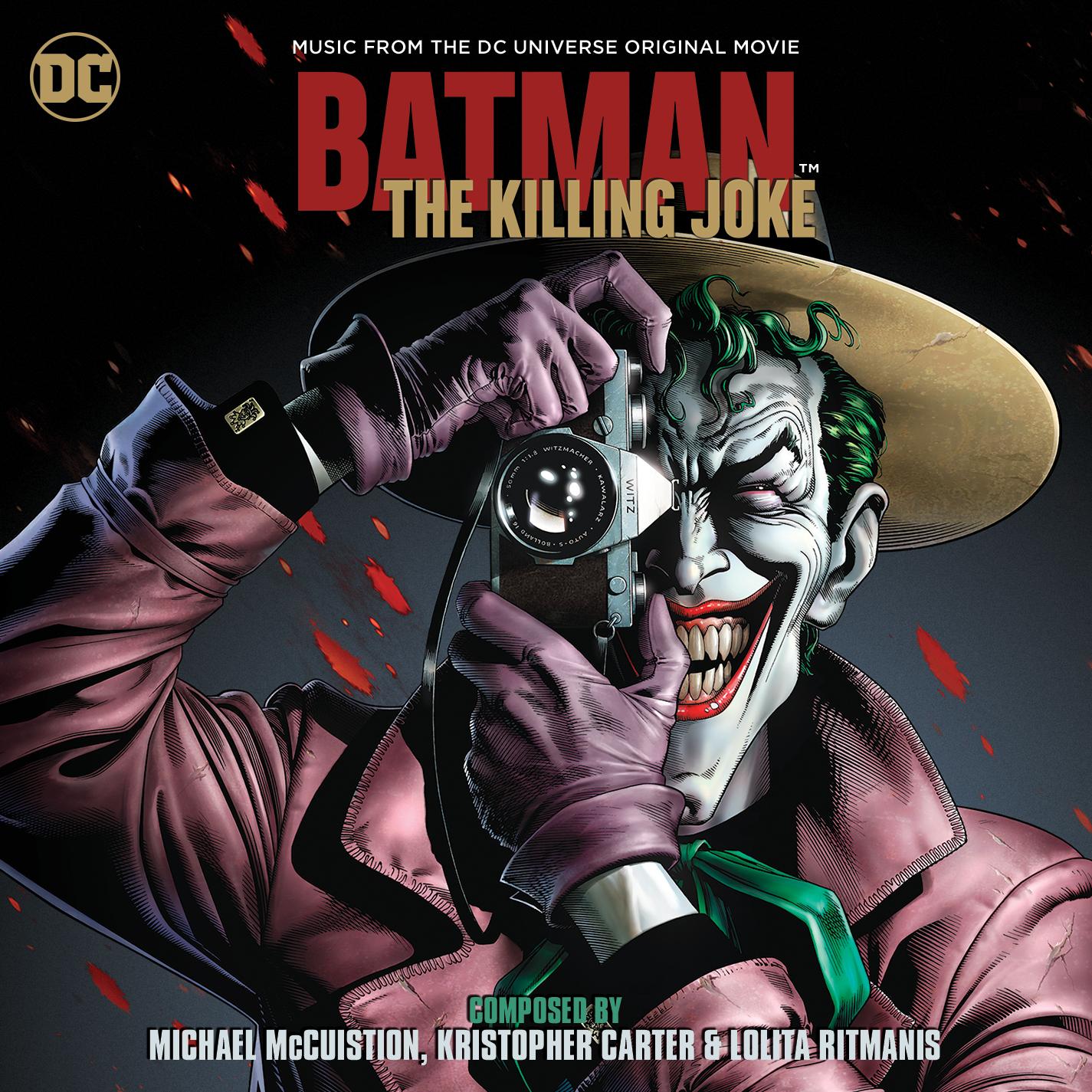 Batman The Killing Joke Soundtrack 22 july dark knight news
