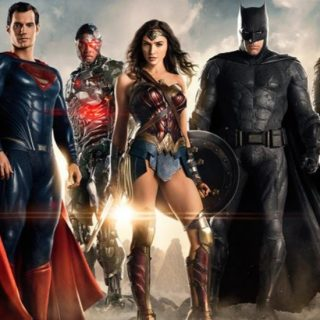 justice league movie banner