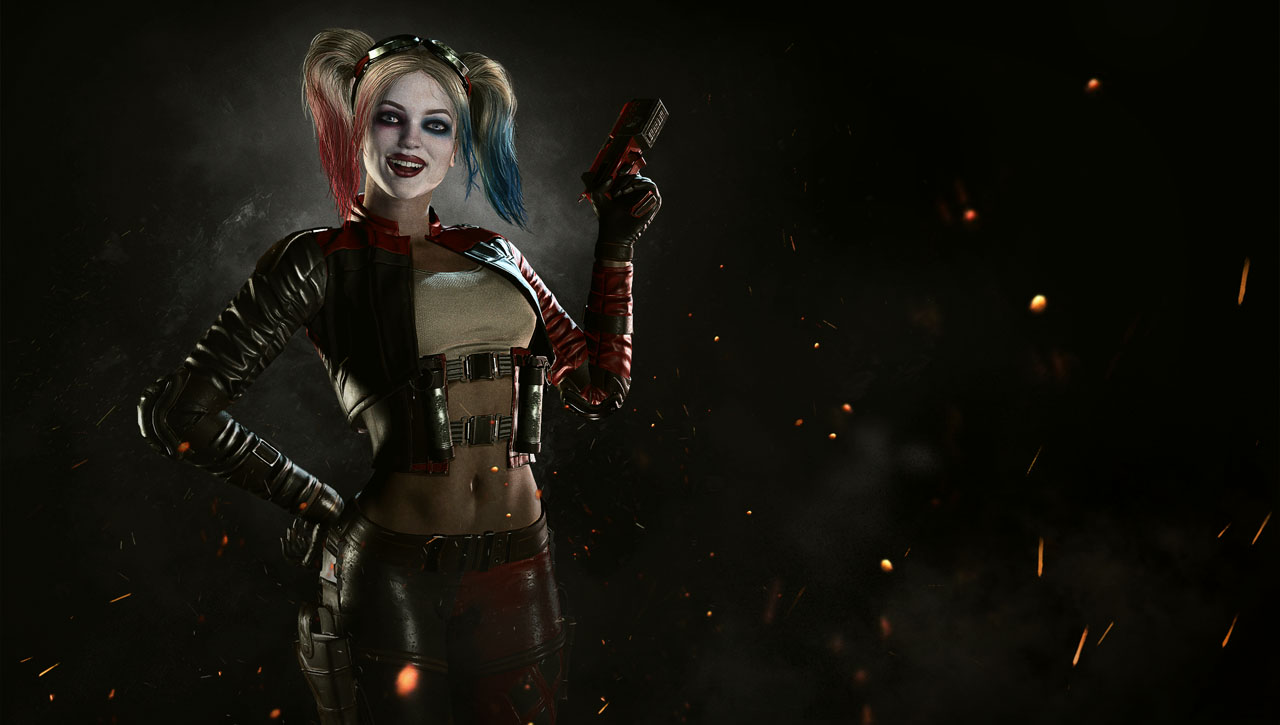 Harley Quinn and Deadshot Confirmed For 'Injustice 2' Dark Knight News