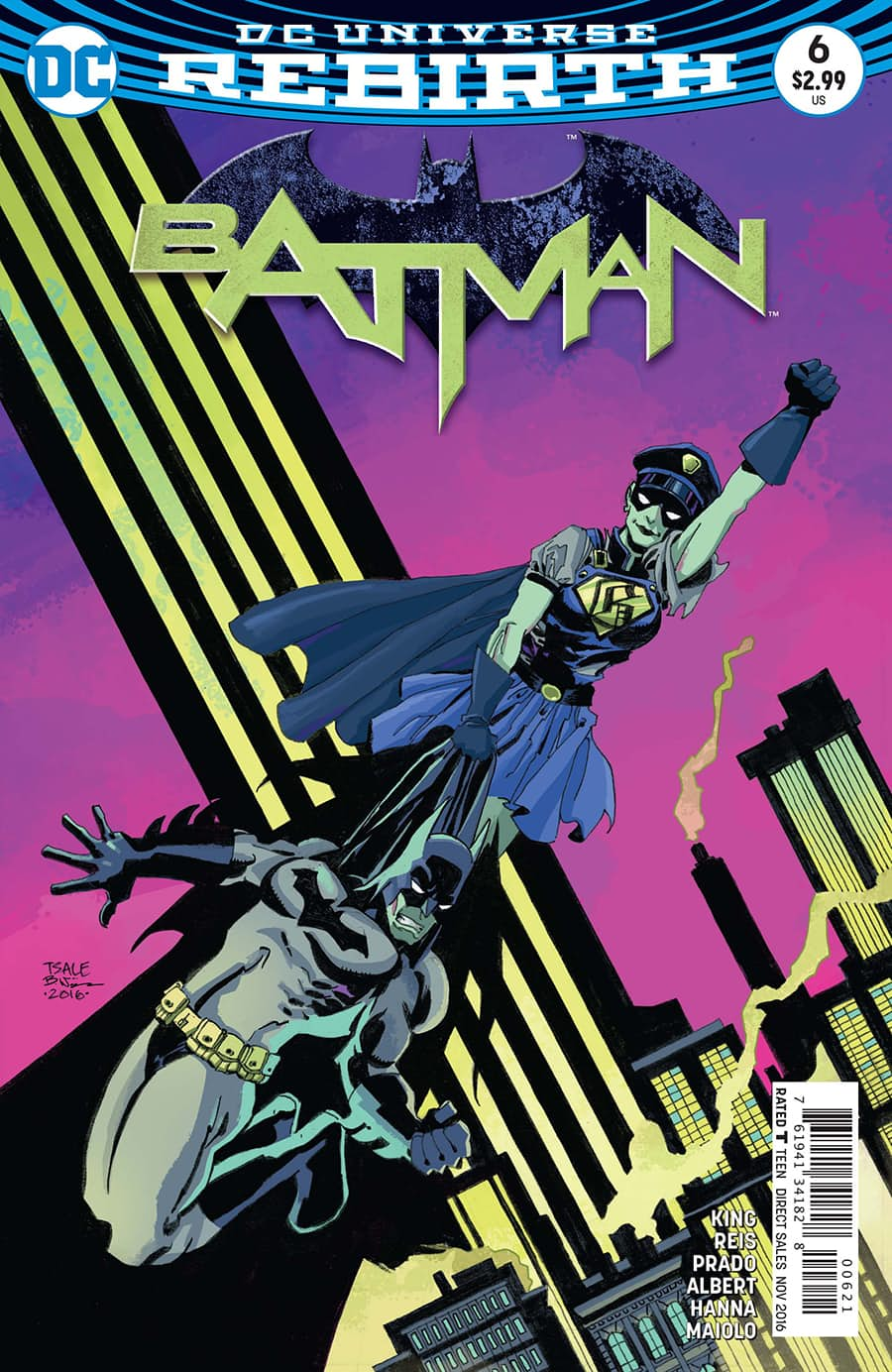 Preview: Batman #6 Dark Knight News