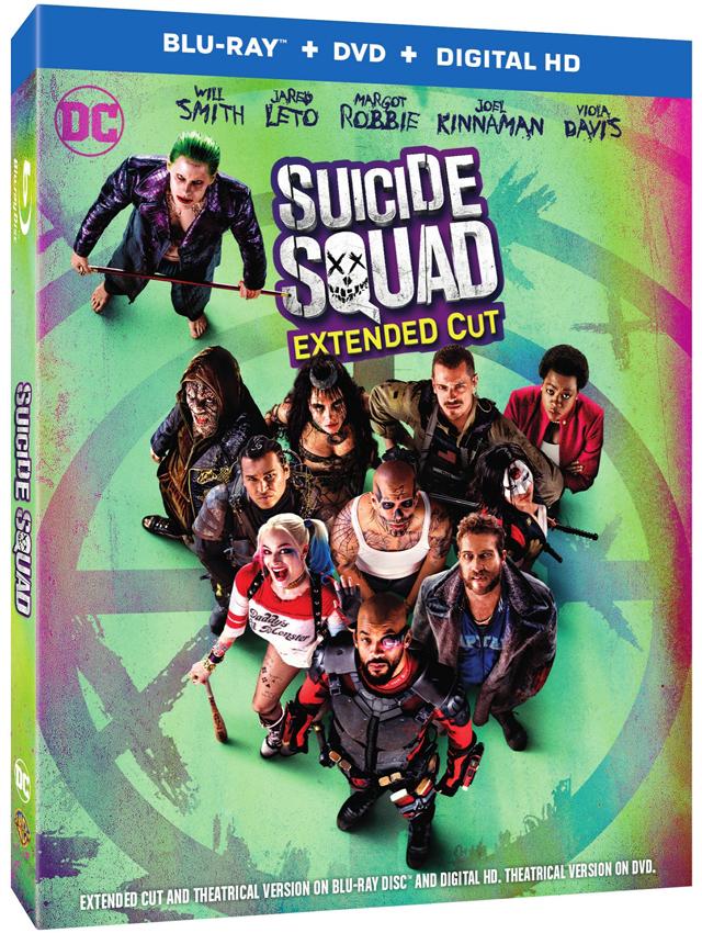 Suicide Squad 3D Box Art