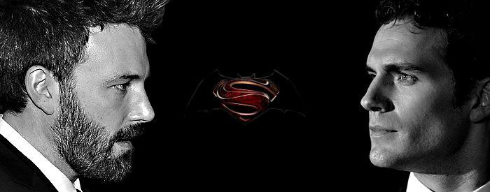 Batman vs Superman Affleck vs Cavill