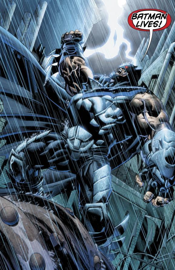 Bane as the Bat?