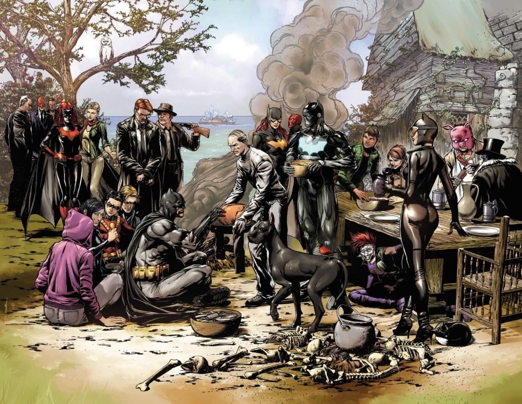Batman: Eternal teaser by Jason Fabok