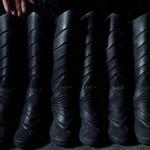 Batman Returns - The Dark Knight grabs his Nikes.