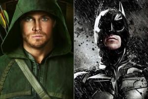 Arrow & Batman in the one Universe.