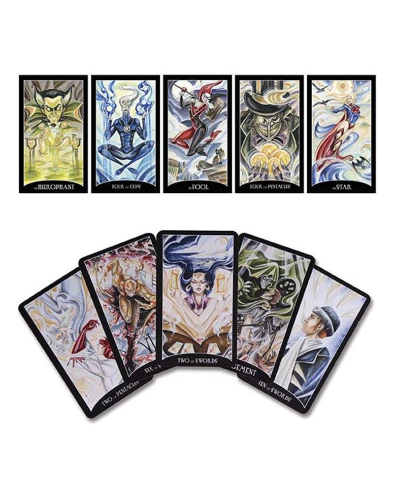JUSTICE LEAGUE TAROT CARDS