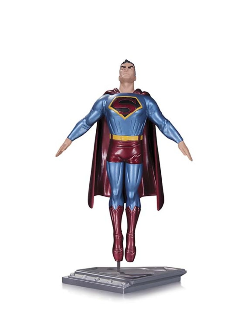 "SUPERMAN, THE MAN OF STEEL 9"" STATUE"