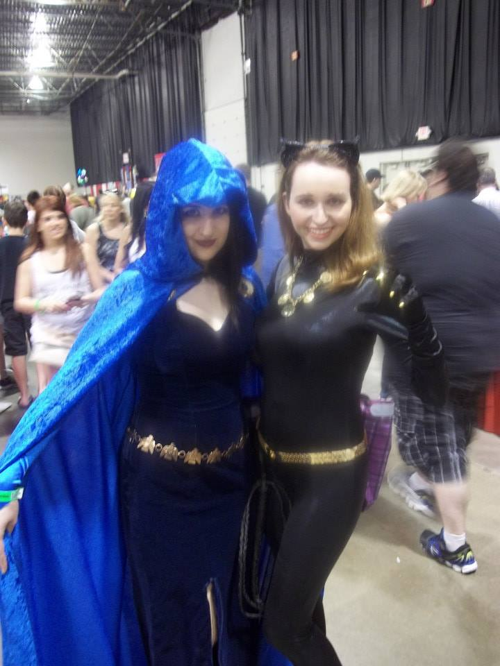 Julie Newman Catwoman and Raven