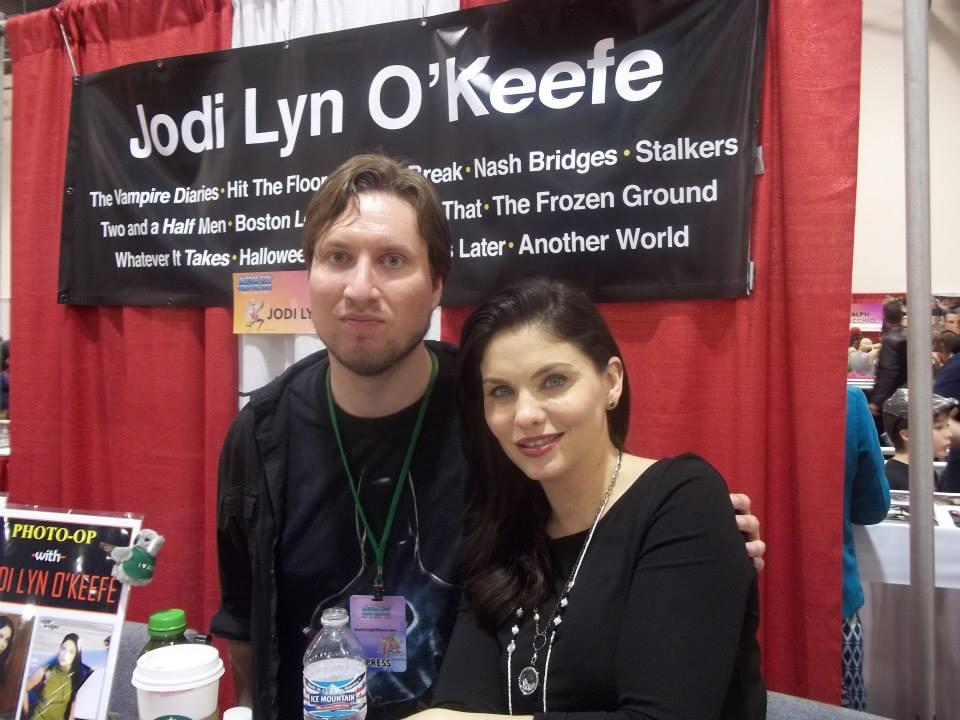 With Jodi Lyn O'Keefe.