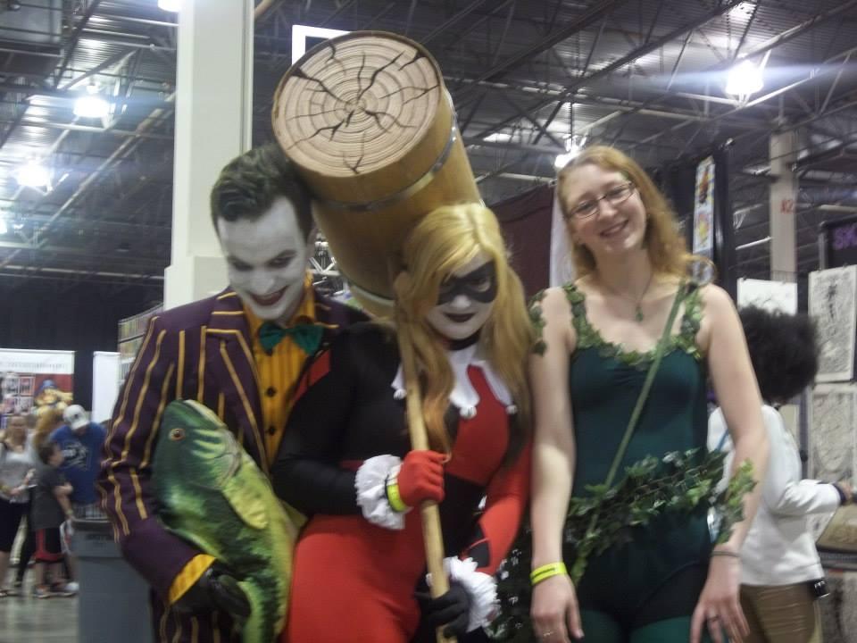 Joker, Harley, and Ivy