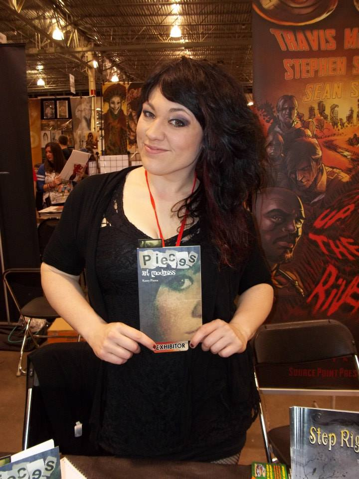 """Kasey Danielle Pierce, author of """"Pieces of Madness."""""""