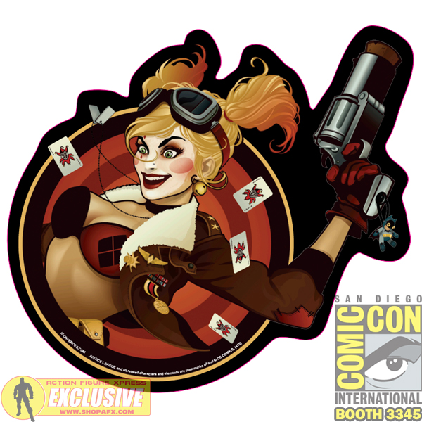 SDCC Harley Mouse Pad