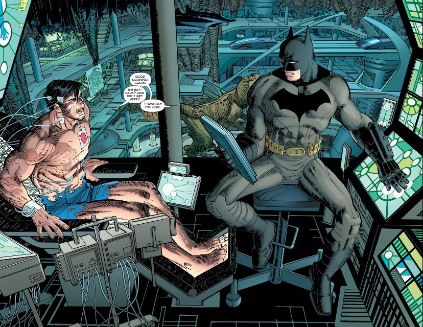 Artwork by Romita taken from Superman #38