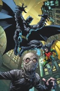 BATMAN ROBIN ETERNAL 16 COVER