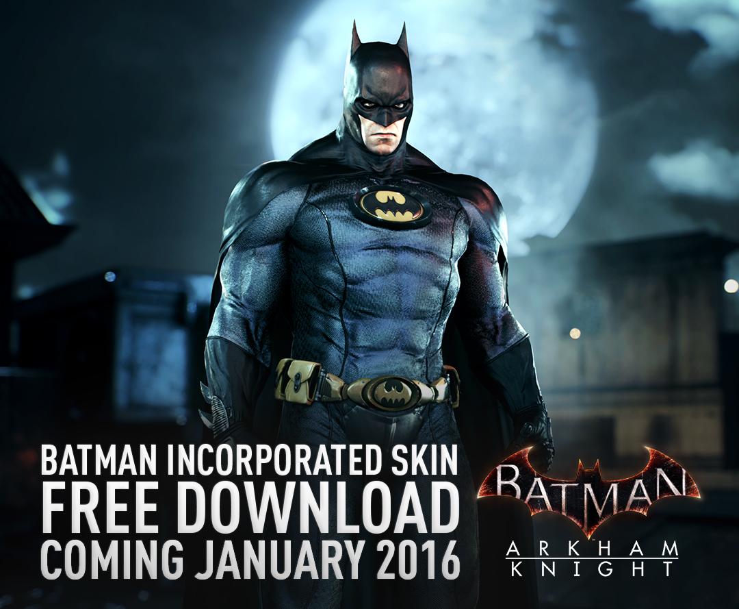 Batman Inc. Skin Dark Knight News