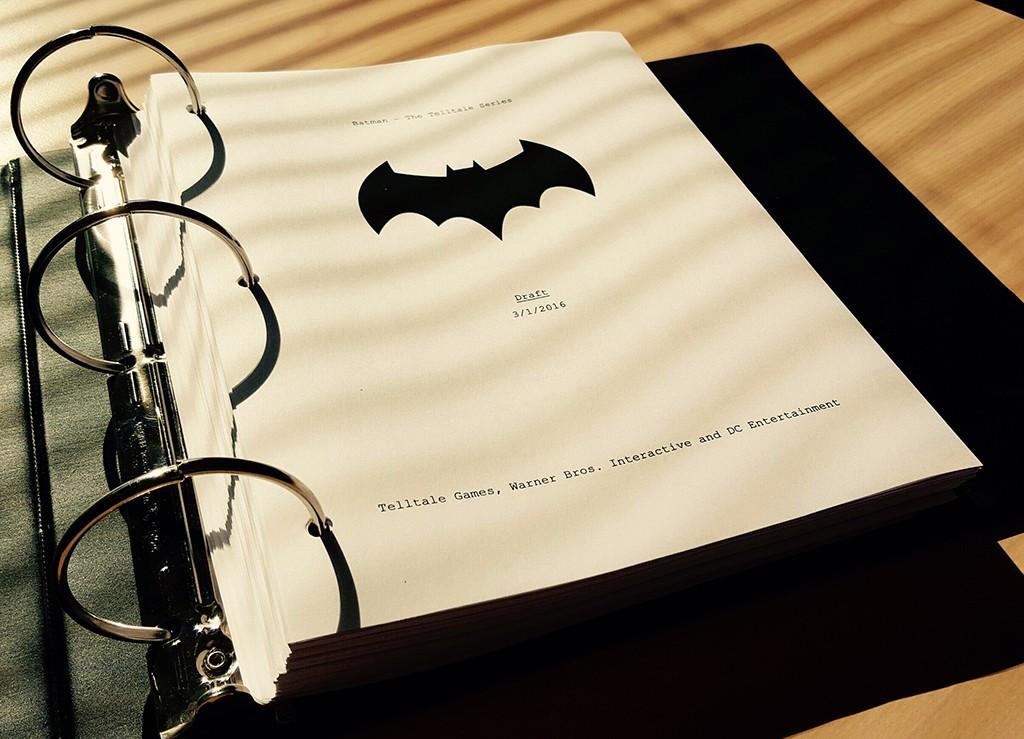 Telltale's Batman Script