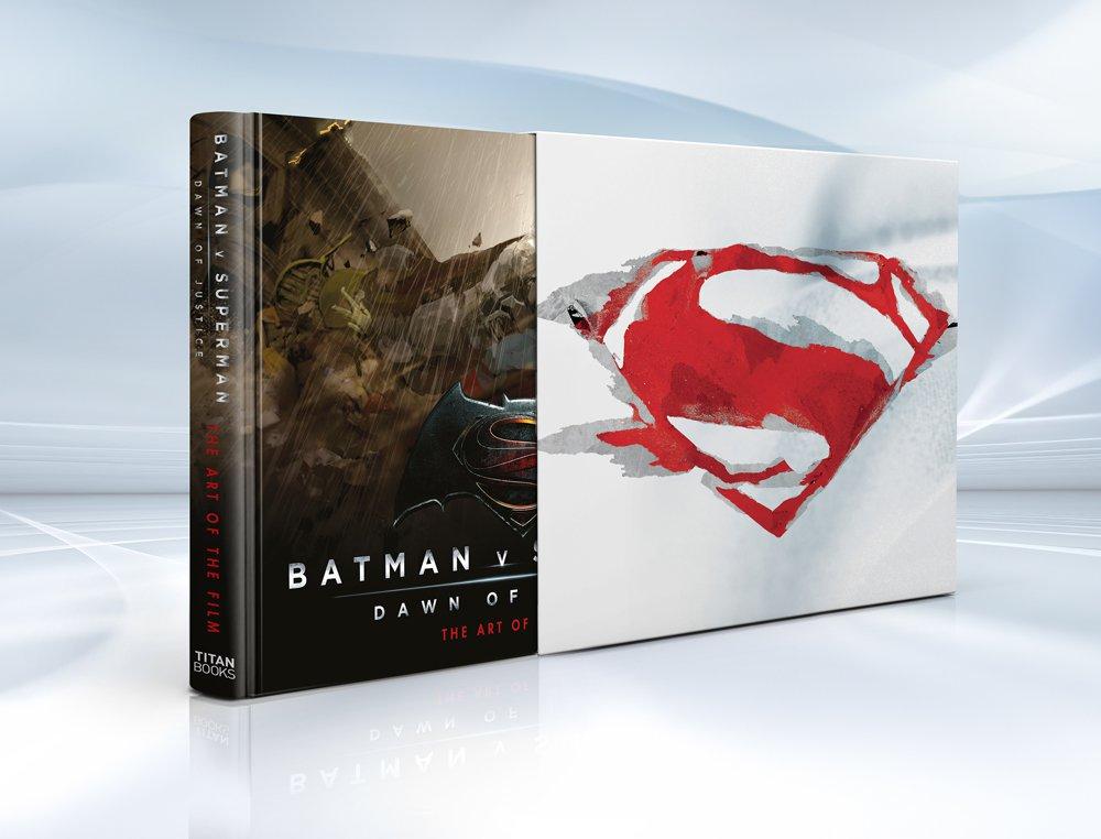 Autograph Limited Edition 'Batman V Superman' Art Book for Pre-Order Dark Knight News