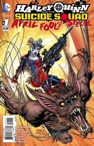 harley quinn suicide squad cover