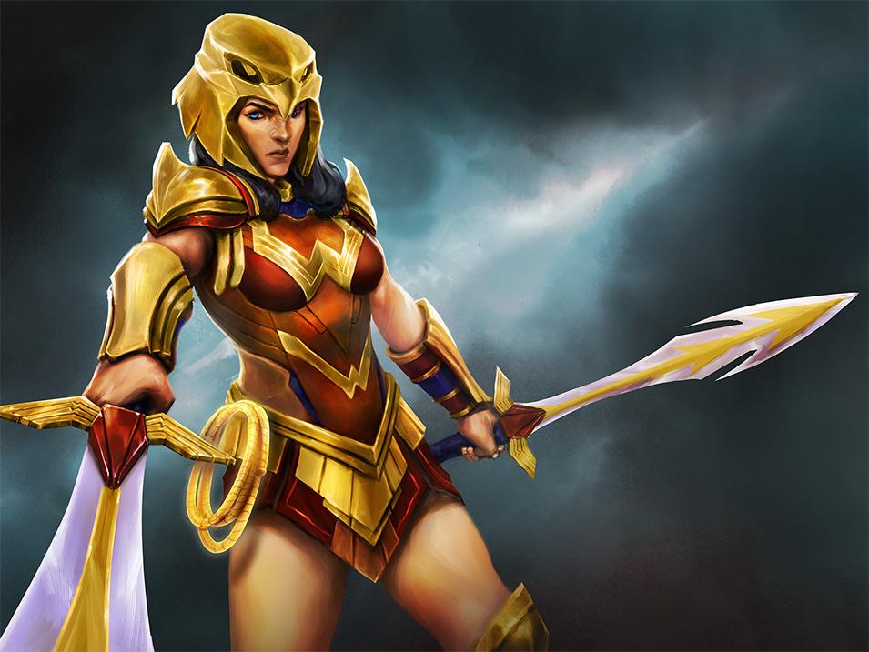 Striker Wonder Woman